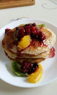 Vegane Pancakes - milchfrei, eifrei, laktosefrei, ein schmackhaftes Rezept aus der Kategorie Süßspeisen. Bewertungen: 58. Durchschnitt: Ø 4,7.