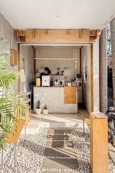 Home Decoration For Ganpati Cafe Shop Design, Coffee Shop Interior Design, Small Cafe Design, Kiosk Design, House Design, Signage Design, Design Design, Graphic Design, Cafe Restaurant
