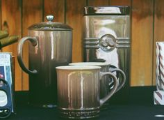 The Le Creuset coffee set, perfect Father's Day gift.