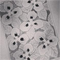Flor dos olhos.  #arte #ilustração