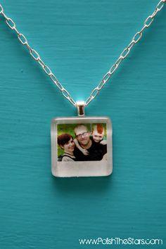 Mini Polaroid necklace.... another great Christmas present idea