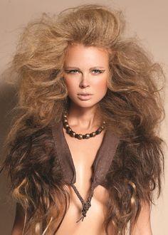 Gorgeous big hair by 2012 Hair Expo Australia Awards Nominee Hannah Escano. #hair #hairexpo