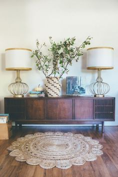 Boho Eclectic Fall Home Tour featuring /raymourflanigan/ Bohemian Elegance Table Lamps. Love these!