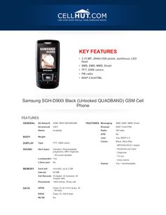 samsung-sghd900iblackunlockedquadbandgsmcellphone-brochure4171 by Cellhut via Slideshare