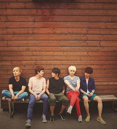 Leeteuk, Kyuhyun, Donghae, Sungmin and Yesung