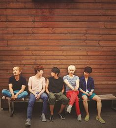 Leeteuk, Kyuhyun, Donghae, Sungmin and Yesung