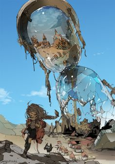 The Art Of Animation, Demizu Posuka - http://posuka.iinaa.net -...