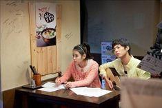 박보검 2012 광고 농심 후루룩 칼국수 촬영현장 02