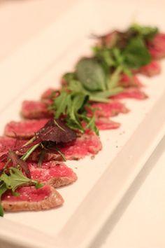 牛肉のカルパッチョ ~ナチュラルシーソルトとライスブランオイルで~ by ...