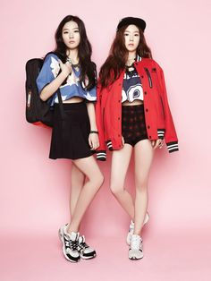 Irene and Seulgi - Oh Boy! Vol. 44 | Beautiful Korean Artists
