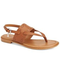COACH Coach Stacey Slingback Thong Sandals. #coach #shoes # all women