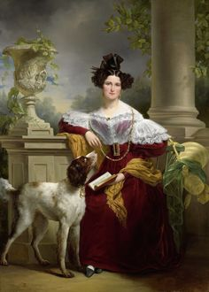 Portret van Alida Christina Assink, 1833,  by Jan Adam Kruseman
