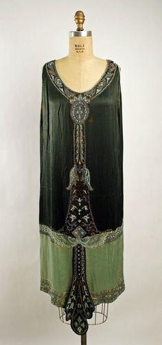 1925 Silk Dress
