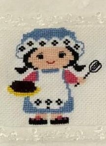 Cozinha Wool Embroidery, Embroidery Stitches, Pixel Crochet, Cross Stitching, Fabric Flowers, Elsa, Needlework, Diy And Crafts, Crochet Patterns