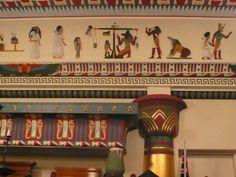 Egyptian Room interior 4