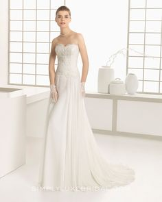 Delfin by Rosa Clara #wedding #weddingdress #rosaclara