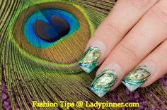 Beautiful Acrylic Nail Art - Fashion Tips and Tricks