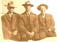 Joe, John, and Charlie O'Donnell - John  was my great grandfather.