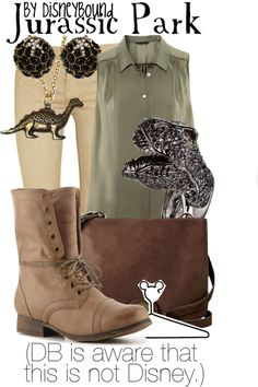 """Jurassic Park"" by lalakay on Polyvore - pretty positive I need that ring"