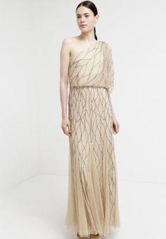 Adrianna Papell - Vestido de fiesta - nude