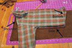 House of Noise... I mean boys.: DIY: Kids Costume - Cowboy Chaps and Vest... This is a great tutorial