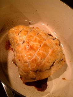 Beef Wellington - Gordon Ramsay recipe found here.  http://gordonramsaysrecipes.com/tag/beef-wellington/