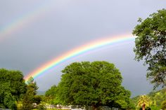 Double Rainbow on Mustang Dr., Springville, Ca. Mustang, Beautiful Things, Country Roads, Rainbow, Rainbows, Rain Bow, Mustang Cars, Mustangs