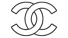 Who knows the origin of the Chanel logo? Chanel Decor, Chanel Art, Coco Chanel, Chanel Logo, Christmas Ornament Template, Iron On Logos, Pink And Gold Decorations, Logo Outline, Diy Organisation
