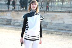Anya Ziourova http://www.vogue.fr/defiles/street-looks/diaporama/street-looks-a-la-fashion-week-automne-hiver-2013-2014-de-paris-jour-4/12095/image/728590#anya-ziourova