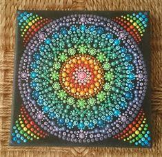 Dots mandala 20x20