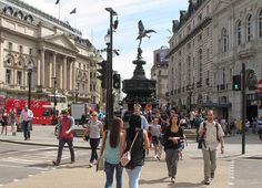 London: Piccadilly Circus und Chinatown
