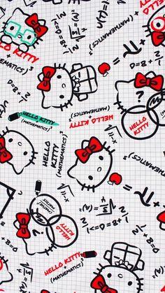 Sanrio Hello Kitty, Melody Hello Kitty, Hello Kitty Art, Hello Kitty Pictures, My Melody, Hello Kitty Iphone Wallpaper, Hello Kitty Backgrounds, Sanrio Wallpaper, Dreamcatcher Wallpaper