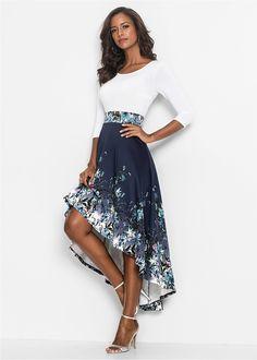 cff17548105b1 Sukienka w kwiaty Piękna sukienka z • 179.99 zł • bonprix Butik, Kwiatowy,  Spódnice