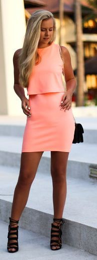 Cute color, and the shoes complete the look perfectly