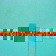 Dwelling 8 - acrylic on canvas 30x30 in