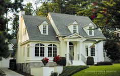 Love…1930s classic American cottage. Stephen Fuller Designs.