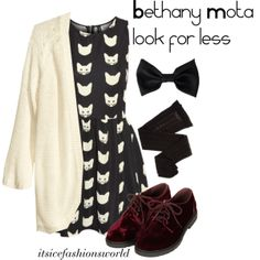 """""""Bethany Mota look for less"""" by itsicefashionsworld on Polyvore"""