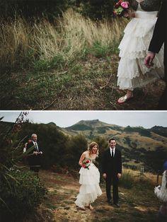 Akaroa Wedding by Fiona Andersen