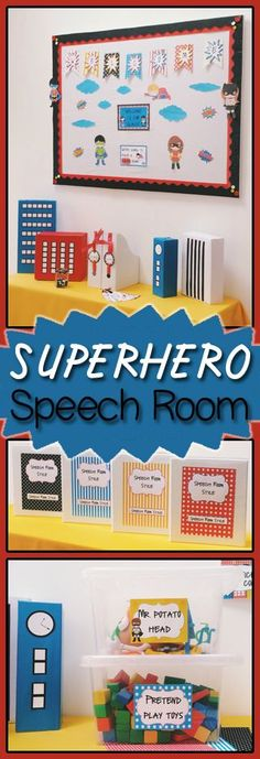 Classroom Decoration Freebies ~ Speech therapy bulletin boards decor on pinterest