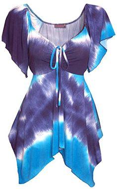 GW2 FUNFASH SLIMMING OMBRE BLUE WHITE WOMENS PLUS SIZE TOP SHIRT BLOUSE 1X 18 20 Funfash http://www.amazon.com/dp/B00X1E2ANC/ref=cm_sw_r_pi_dp_ugVKvb0GEAFBA