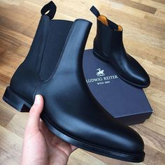 Thank you  ludwig reiter for these stunning Chelsea Boots! Great outfits to  come - visit 340fdf1fe