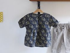 Girl blouse Liberty, Free Tutorial