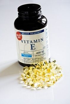 vitamin E....for my eyes and scars!