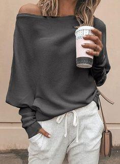 Buy Sweaters & Sweatshirts, Online Shop, Women's Fashion Sweaters & Sweatshirts for Sale - Floryday Mode Hippie, Mode Boho, Latest Fashion For Women, Latest Fashion Trends, Womens Fashion, Ladies Fashion, Fashion Online, Uni Fashion, Fashion Edgy