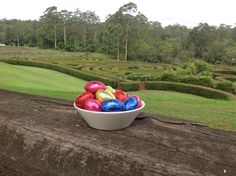 Eggs to be found at Bago over Easter Bago, Wine Recipes, Watermelon, Easter, Fruit, Food, Easter Activities, Essen, Meals