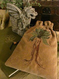 Mandrake bag | medieval muse