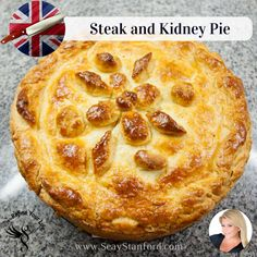 Steak and Kidney Pie – British Comfort Food Recipe – Rezepte Grilling Recipes, Beef Recipes, Cooking Recipes, Kidney Recipes, Recipies, Healthy Recipes, English Food, English Recipes, Steak And Kidney Pie