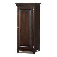 Archbold Furniture Company   Pine One Door Jelly Cabinet   574