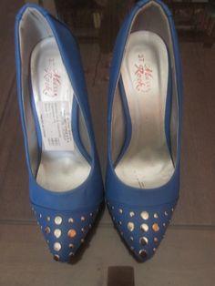 Tacos 5cm azules - Zapatos de tamo