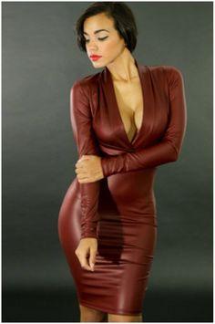Бесплатная доставка 2014 женский с длинным рукавом осень кожаные леггинсы был пакет платье мини QZ117, принадлежащий категории Платья и относящийся к Одежда и аксессуары на сайте AliExpress.com | Alibaba Group